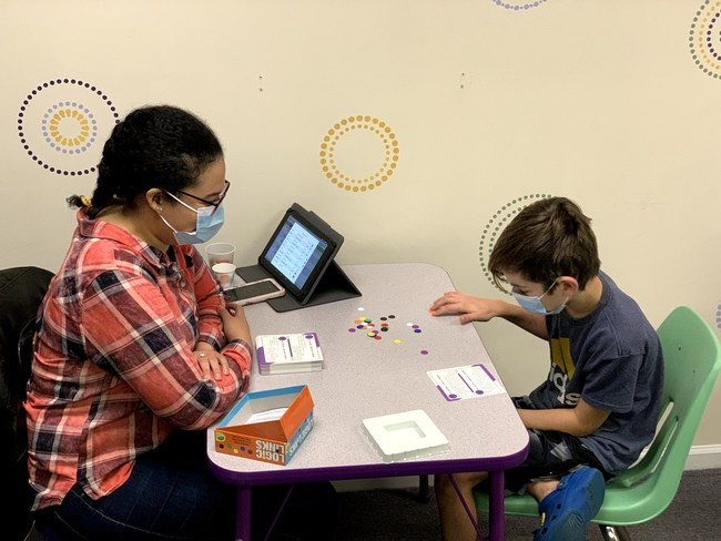 LearningRx Brain Trainers work one-on-one with children and adults-both in person and virtually via teleconference-to improve cognitive skills that impact an individual's ability to think, remember, and perform in school, work, and life-skills like attention, processing speed, and memory.