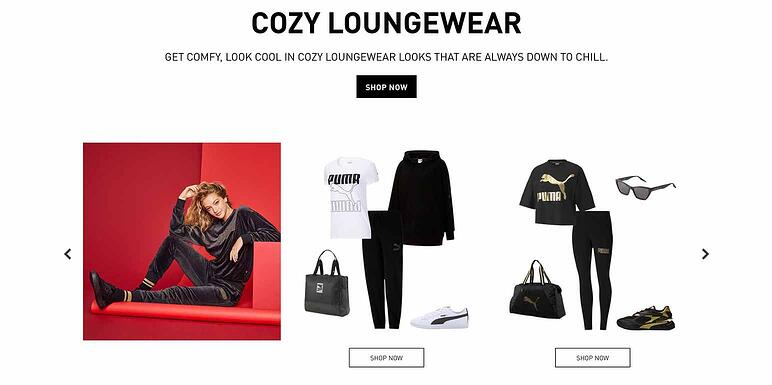 Sell sport fashion in ecommerce