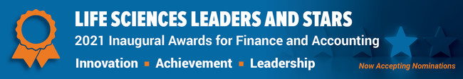 Life Sciences Leaders & Stars Awards for the Finance & Accounting Community