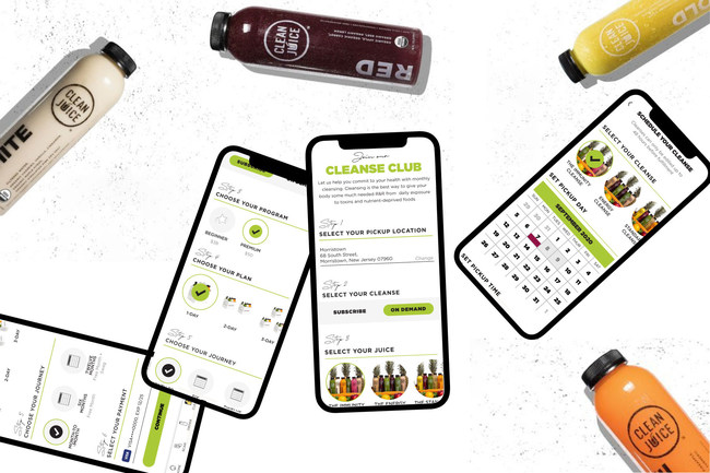 """With the guest in mind at every corner of its development, our subscription-based Cleanse Club subscription is built on a superior mobile technological platform that is designed to make it easy and empowering for our guests to commit to their health through the power of regular cleansing,"" said B. Quick Chadwick, Vice President of Marketing for Clean Juice. ""It's more than just a standard product subscription feature; it's an unspoken partnership with our loyal guests."""