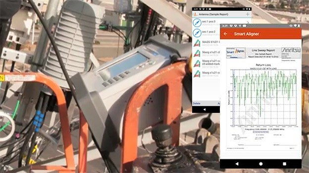 Anritsu Company, in partnership with Multiwave Sensors, Inc., introduces the Smart Aligner App that streamlines and simplifies close out reporting for new cellular base stations.