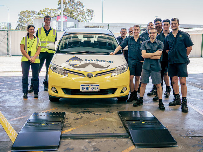 The Monocular Tread Depth Reader was developed with help from Precision Automotive Equipment Australia and Hunter Engineering's Quick Tread Edge drive-over scanner with an integrated LPR camera. It has been extensively tested at a Royal Automobile Club of Western Australia workshop.