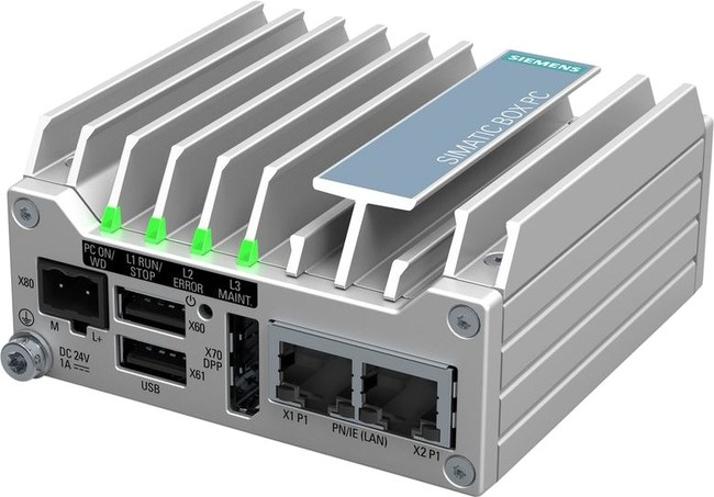 Siemens Simatic IPC 127E. Ultra-compact and flexible industrial PC.